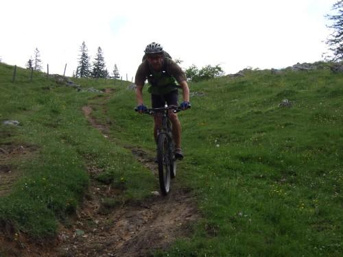 Foto: hofsab / Mountainbike Tour / Rund um und auf die Kampenwand (1664 m) / herrlicher Downhill entlang des Klausbaches / 13.08.2009 20:52:59