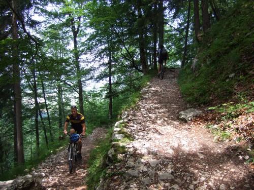 Foto: hofsab / Mountainbike Tour / Rund um und auf die Kampenwand (1664 m) / anstrengend, aber toll / 13.08.2009 20:55:54