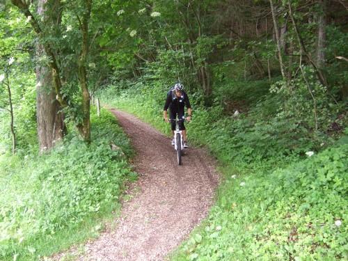 Foto: hofsab / Mountainbike Tour / Rund um und auf die Kampenwand (1664 m) / super Trail nach Mühlau / 13.08.2009 20:50:15