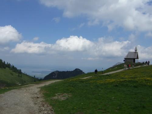 Foto: hofsab / Mountainbike Tour / Rund um und auf die Kampenwand (1664 m) / die Steinlingalm (1460 m) / 13.08.2009 20:57:56