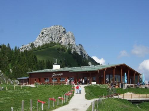 Foto: hofsab / Mountainbike Tour / Rund um und auf die Kampenwand (1664 m) / das Münchner Haus (1467 m) / 13.08.2009 21:02:11