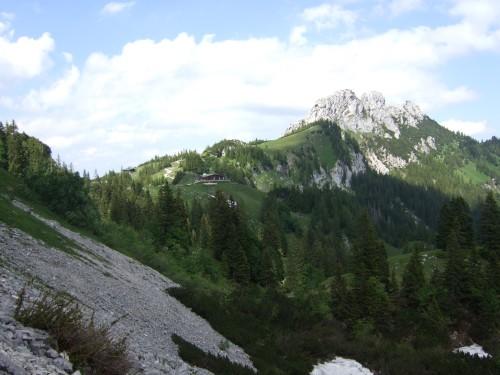 Foto: hofsab / Mountainbike Tour / Rund um und auf die Kampenwand (1664 m) / Schiebe- und Tragestrecke zur Hofbauernalm / 13.08.2009 21:03:32