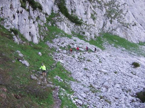 Foto: hofsab / Mountainbike Tour / Rund um und auf die Kampenwand (1664 m) / ca. 30 Minuten schinden / 13.08.2009 21:03:55