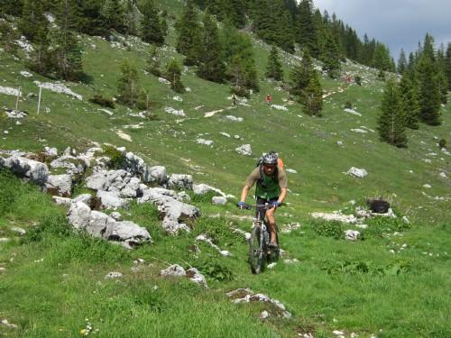 Foto: hofsab / Mountainbike Tour / Rund um und auf die Kampenwand (1664 m) / 13.08.2009 21:05:15