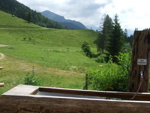 Foto: hofsab / Mountainbike Tour / Rund um und auf die Kampenwand (1664 m) / bei der Vorderen Dalsenalm (960 m) / 13.08.2009 20:51:19