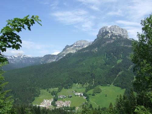 Foto: hofsab / Mountainbike Tour / Raschbergrunde (1390 m) über Blaa-Alm und Ewige Wand / tolle Ausblicke zum Loser / 13.08.2009 20:16:24