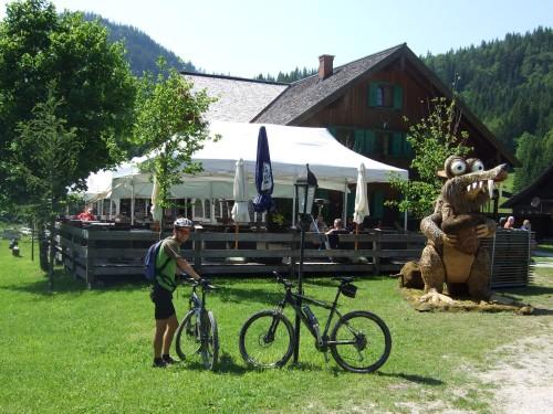 Foto: hofsab / Mountainbike Tour / Raschbergrunde (1390 m) über Blaa-Alm und Ewige Wand / auf der Blaa Alm / 13.08.2009 20:17:10