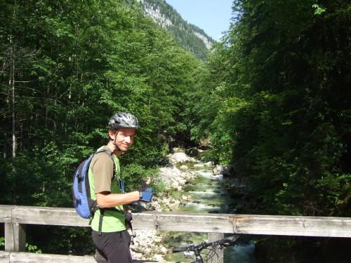 Foto: hofsab / Mountainbike Tour / Raschbergrunde (1390 m) über Blaa-Alm und Ewige Wand / Abzweig zum Raschberg / 13.08.2009 20:19:52
