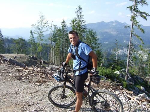 Foto: hofsab / Mountainbike Tour / Raschbergrunde (1390 m) über Blaa-Alm und Ewige Wand / nach 1700 Hm gehts nur noch bergab / 13.08.2009 20:22:10