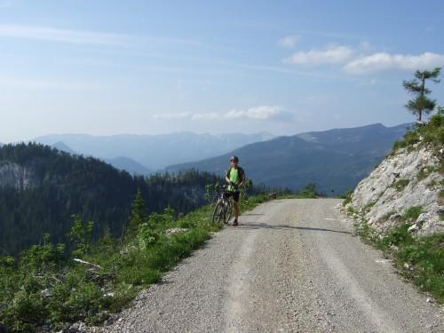 Foto: hofsab / Mountainbike Tour / Raschbergrunde (1390 m) über Blaa-Alm und Ewige Wand / 13.08.2009 20:23:05