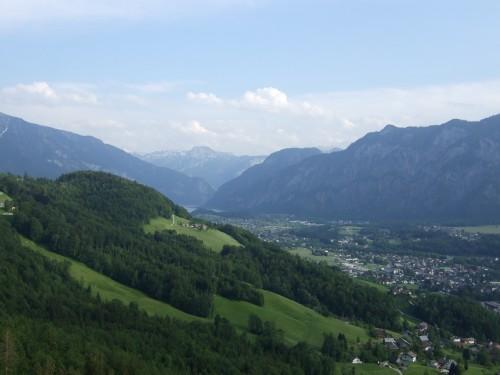 Foto: hofsab / Mountainbike Tour / Raschbergrunde (1390 m) über Blaa-Alm und Ewige Wand / Ausblick beim Downhill / 13.08.2009 20:24:11