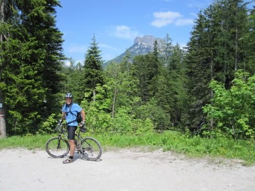 Foto: hofsab / Mountainbike Tour / Raschbergrunde (1390 m) über Blaa-Alm und Ewige Wand / da Losa wira obaschaut! / 13.08.2009 20:15:05