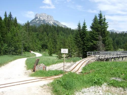 Foto: hofsab / Mountainbike Tour / Raschbergrunde (1390 m) über Blaa-Alm und Ewige Wand / Stollenbahn des Bergwerks / 13.08.2009 20:15:48