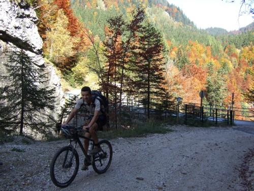 Foto: hofsab / Mountainbike Tour / Rund um den Plassen über Plankensteinalm (1530 m) und Gosauseen / bei Waldbachstrub / 25.08.2009 12:54:14