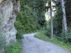 Foto: mark1980 / Mountainbike Tour / Uderns - Kupfnerberg - Hochfügen / Beginn der Schotterstraße / 02.07.2009 16:26:08