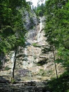 Foto: Ötschertrekker / Wander Tour / ÖTSCHERBÄRENTRAIL - 5 Tage Naturpark Ötscher Pur / Schleierfall in den Ötschergräben / 02.07.2009 18:39:19