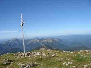 Foto: Ötschertrekker / Wander Tour / ÖTSCHERBÄRENTRAIL - 5 Tage Naturpark Ötscher Pur / Gipfel Grosser Ötscher / 04.07.2009 11:47:27