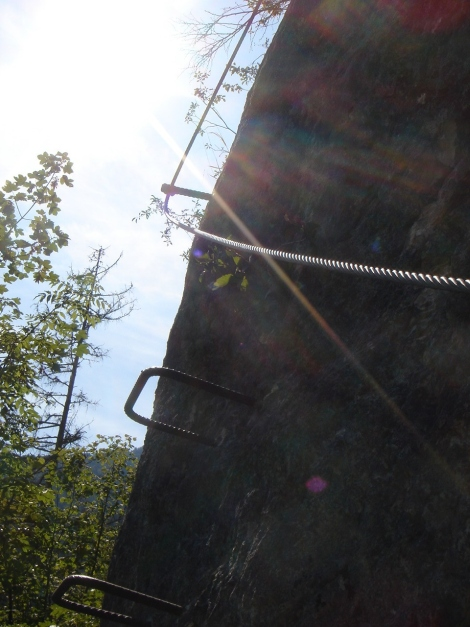 Foto: Manfred Karl / Klettersteig Tour / Brustwand Klettersteig / 23.06.2012 22:55:11