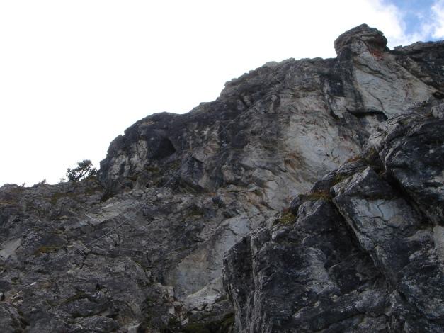 Foto: Manfred Karl / Klettersteig Tour / Saukarkopf Bella Cascinaia – erster Großarler Klettersteig / Einstiegswandl / 17.07.2009 22:42:13