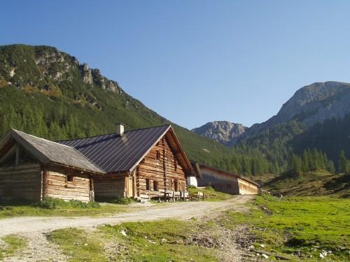 Foto: hofsab / Mountainbike Tour / Rauch- (1893 m) und Rosskopf (1929 m) von Flachauwinkl / Oberzauchensee / 25.08.2009 12:47:06