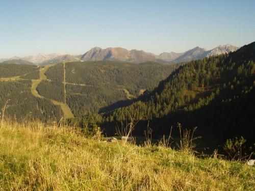Foto: hofsab / Mountainbike Tour / Rauch- (1893 m) und Rosskopf (1929 m) von Flachauwinkl / Auffahrt zum Rosskopf / 25.08.2009 12:47:47