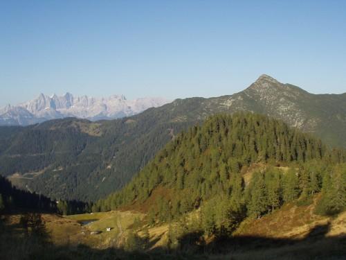 Foto: hofsab / Mountainbike Tour / Rauch- (1893 m) und Rosskopf (1929 m) von Flachauwinkl / 25.08.2009 12:48:02