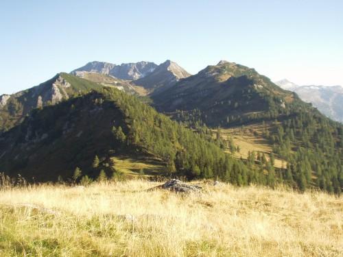 Foto: hofsab / Mountainbike Tour / Rauch- (1893 m) und Rosskopf (1929 m) von Flachauwinkl / am Rosskopf angekommen (1929 m) / 25.08.2009 12:48:28