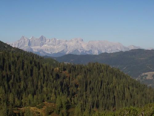 Foto: hofsab / Mountainbike Tour / Rauch- (1893 m) und Rosskopf (1929 m) von Flachauwinkl / der Dachstein / 25.08.2009 12:45:33