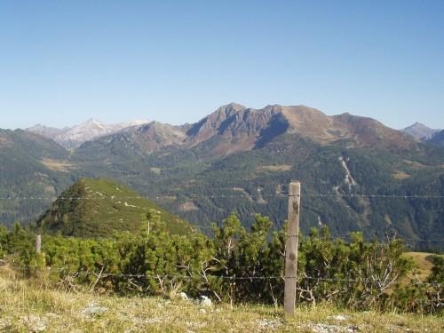 Foto: hofsab / Mountainbike Tour / Rauch- (1893 m) und Rosskopf (1929 m) von Flachauwinkl / am Rauchkopf (1893 m) / 25.08.2009 12:46:19