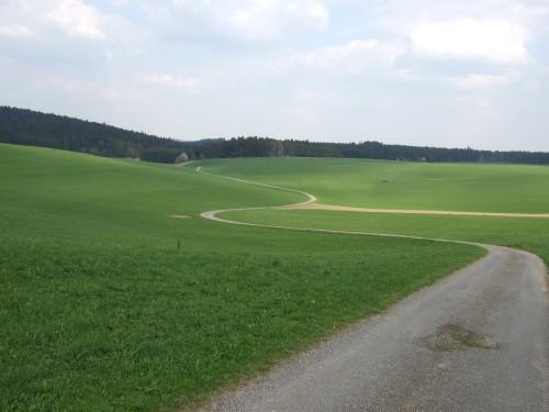 Foto: hofsab / Mountainbike Tour / Kobernaußerwaldrunde über Steiglberg (767 m) / von Fornach Richtung Bergheim / 20.08.2009 12:44:46