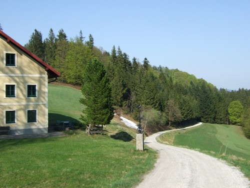 Foto: hofsab / Mountainbike Tour / Hausruckrunde über Göblberg (801 m) / 25.08.2009 12:28:16