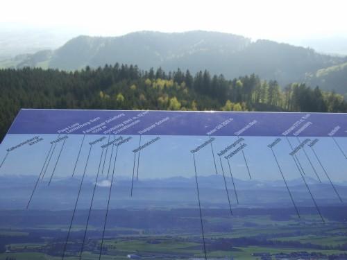 Foto: hofsab / Mountainbike Tour / Hausruckrunde über Göblberg (801 m) / tolles Panorama ins Alpenvorland / 25.08.2009 12:33:10