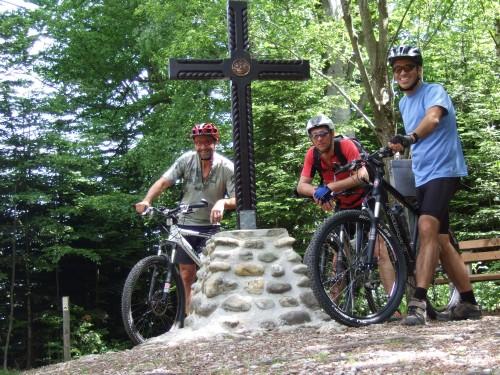Foto: hofsab / Mountainbike Tour / Hausruckrunde über Göblberg (801 m) / am Göblberg (801 m) / 25.08.2009 12:33:54