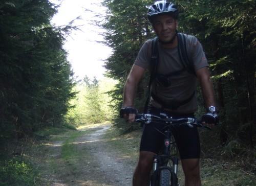 Foto: hofsab / Mountainbike Tour / Hausruckrunde über Göblberg (801 m) / 25.08.2009 12:31:07