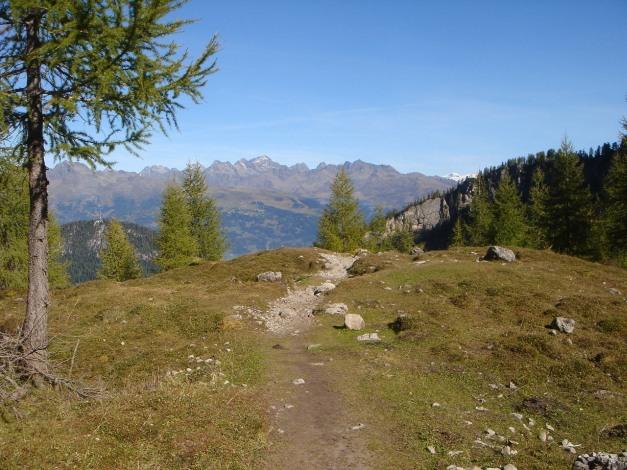 Foto: Manfred Karl / Klettersteig Tour / Sepp Oberlechner Gedächtnisweg / Am Weg zur Karlsbader Hütte / 18.07.2009 14:46:36