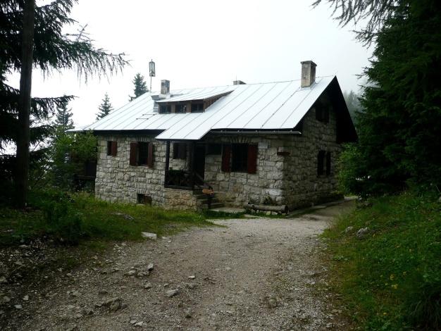 Foto: Manfred Karl / Klettersteig Tour / Via ferrata Monte Roen / Überetscher Hütte / 18.07.2009 15:20:23