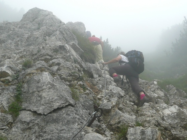 Foto: Manfred Karl / Klettersteig Tour / Via ferrata Monte Roen / 18.07.2009 15:16:50