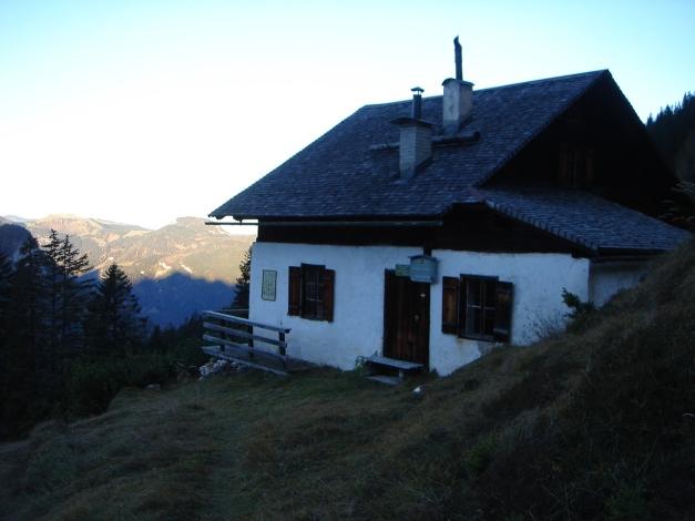 Foto: Manfred Karl / Wander Tour / Wagendrischlhorn Klettersteig / Jagdhütte Hochgscheid / 31.08.2009 17:34:10