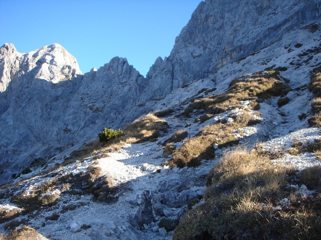 Foto: Manfred Karl / Wander Tour / Wagendrischlhorn Klettersteig / Zur Mayrbergscharte / 31.08.2009 17:30:29