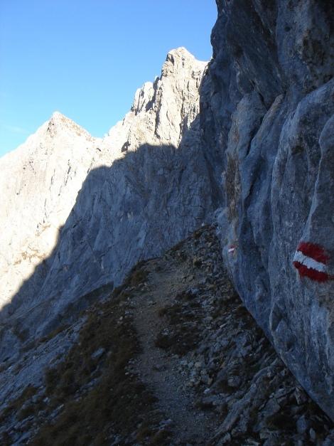 Foto: Manfred Karl / Wander Tour / Wagendrischlhorn Klettersteig / Richtung Mayrbergscharte / 31.08.2009 17:28:28