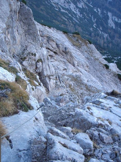 Foto: Manfred Karl / Wander Tour / Wagendrischlhorn Klettersteig / 31.08.2009 17:27:33