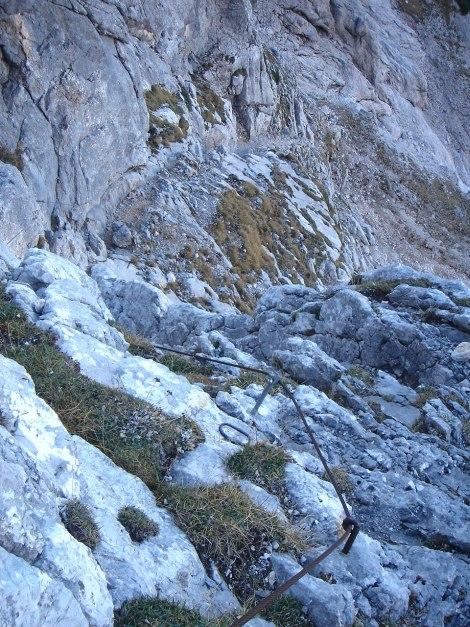 Foto: Manfred Karl / Wander Tour / Wagendrischlhorn Klettersteig / 31.08.2009 17:27:09