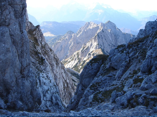 Foto: Manfred Karl / Wander Tour / Wagendrischlhorn Klettersteig / Mayrbergscharte / 31.08.2009 17:26:23