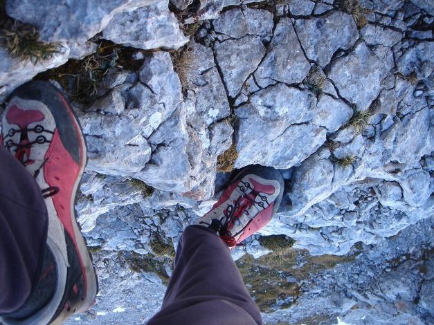 Foto: Manfred Karl / Wander Tour / Wagendrischlhorn Klettersteig / Leichte Kletterei aufs Stadelhorn / 31.08.2009 17:25:21
