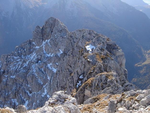 Foto: Manfred Karl / Wander Tour / Wagendrischlhorn Klettersteig / Der Grat zum Gr. Mühlsturzhorn / 31.08.2009 17:23:46