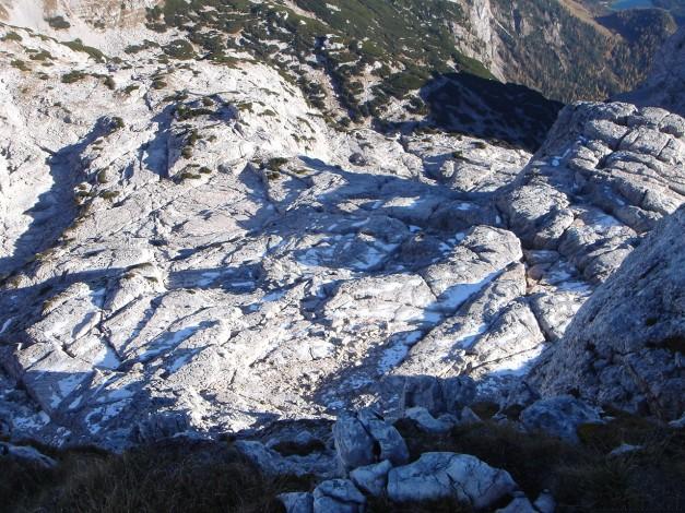 Foto: Manfred Karl / Wander Tour / Wagendrischlhorn Klettersteig / Karrenflächen unterhalb vom Stadelhorn / 31.08.2009 17:21:47