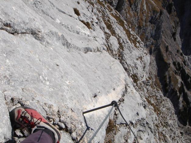 Foto: Manfred Karl / Wander Tour / Wagendrischlhorn Klettersteig / 31.08.2009 17:18:54