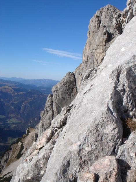 Foto: Manfred Karl / Wander Tour / Wagendrischlhorn Klettersteig / 31.08.2009 17:18:42