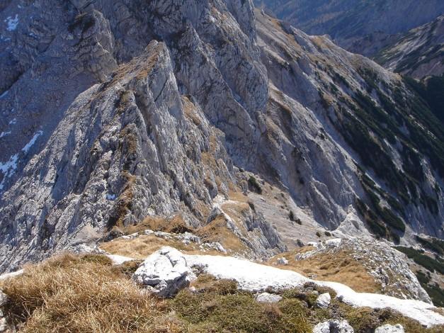 Foto: Manfred Karl / Wander Tour / Wagendrischlhorn Klettersteig / Südostgrat zur Mayrbergscharte / 31.08.2009 17:17:29
