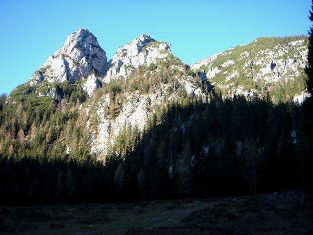Foto: Manfred Karl / Wander Tour / Wagendrischlhorn Klettersteig / Drei Brüder / 31.08.2009 17:09:31